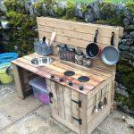 Мини лятна кухня
