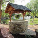 Идеи за декоративни градински кладенци
