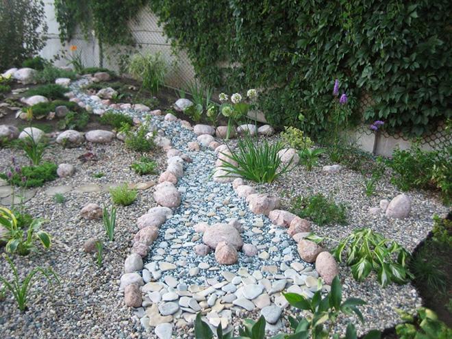 Декоративни реки от камък