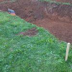 Първа стъпка - изкоп
