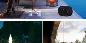 Градинско осветление: Градината – красива и през нощта