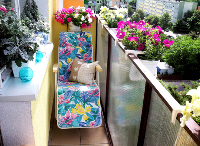 Градинка на балкона