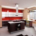 Проект на кухня с LED-осветление
