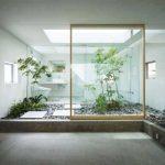 Градина в банята - напълно по японски!