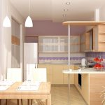 Бар-плот като продължение на кухненския плот