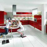 Темпераментното червено - все по-предпочитано решение за кухнята