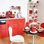 """Червено в кухнята """"събужда"""" апетита"""