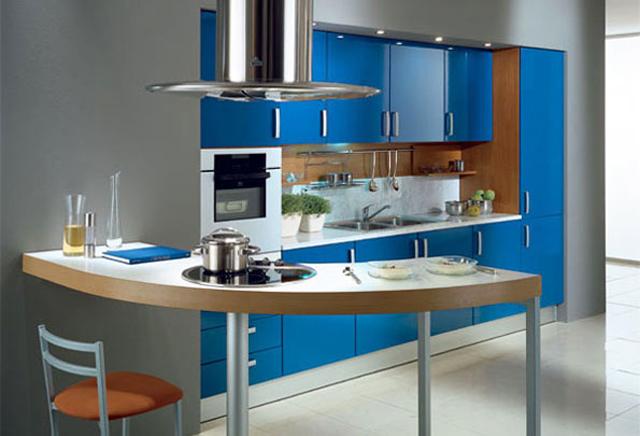 Наситено синьо за мебелите