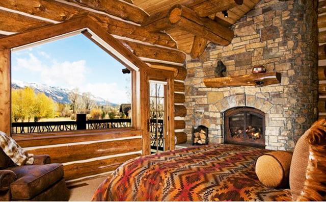 Спални с камини