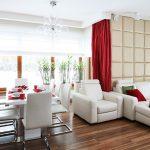 Декоративни елементи в червено