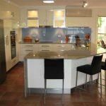 Бяла кухня - син гръб