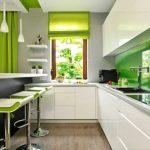 Бяло и зелено в кухнята