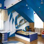Мансардна детска стая