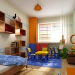 Детска стая с кът за игра