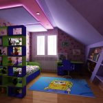 Стая в подпокривно пространство
