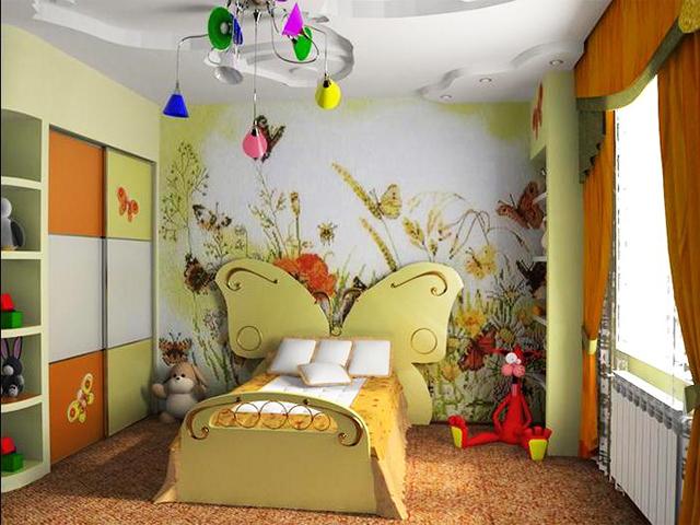 Детска стая с декорация