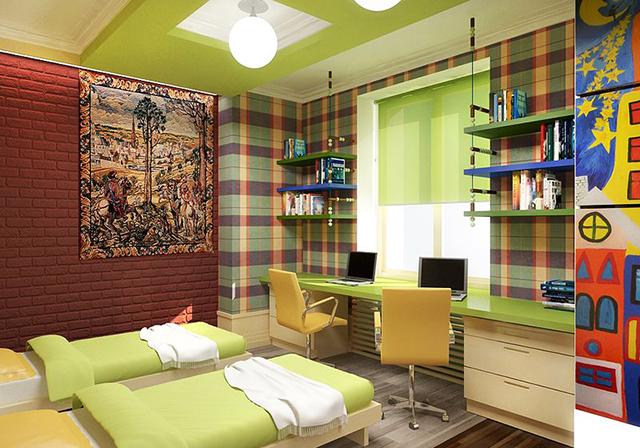 Стая за две деца