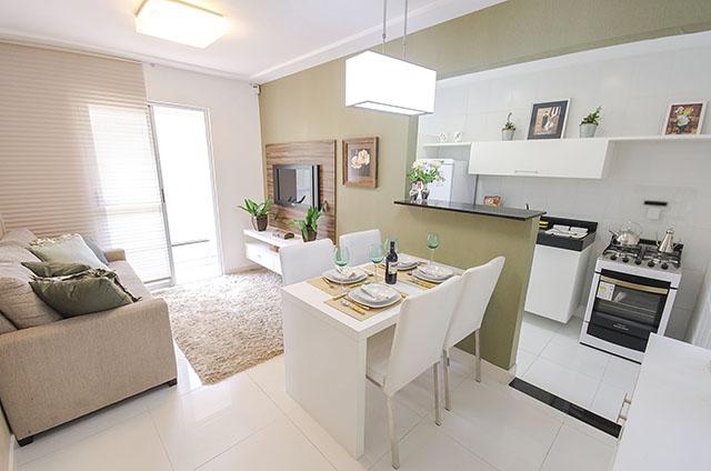 Хол, кухня и трапезария в едно