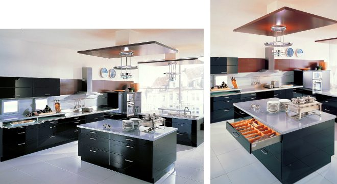 Кухнята в цвят