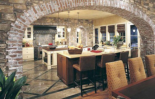 Декоративен камък в кухнята