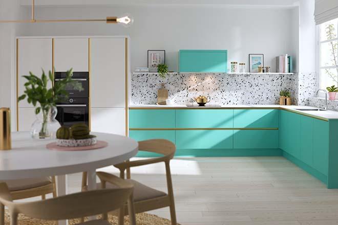 Цветът на кухнята зависи от светлината