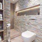 Декоративен камък в банята