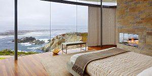 Спални с изглед към морето