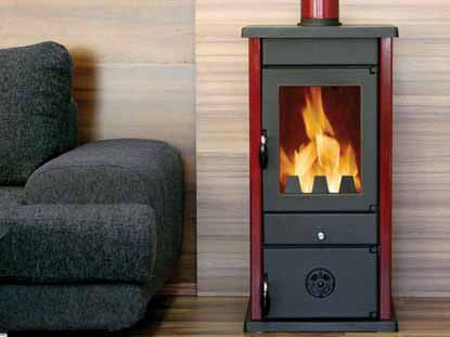 VESTA - Печка на дърва и твърдо гориво
