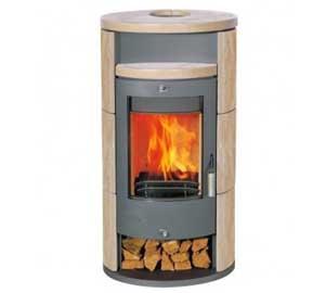 Печка на дърва Аликанте - 8kw
