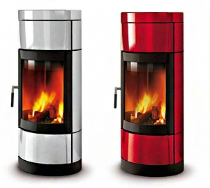 Печка на твърдо гориво и дърва