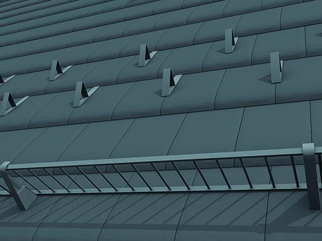 Снегозадържащи елементи за покрив Тондах
