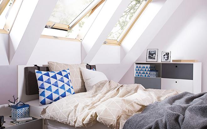 Прозорци за скатни покриви