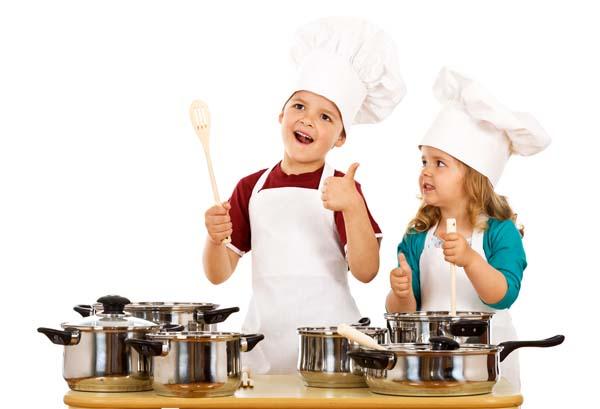 Мамо, днес ще готвя аз!