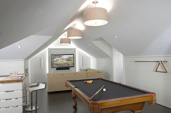 Стая за домашно забавление под покрива