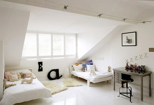 Спалня за гости под покрива