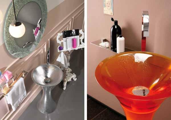 Такава мивка може да стане бижуто във всяка баня