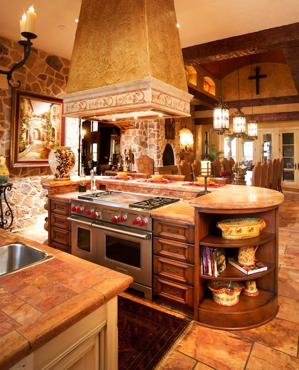 Кухня в рустикален стил