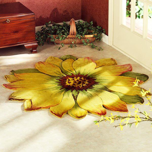 Слънчоглед изгря на пода!