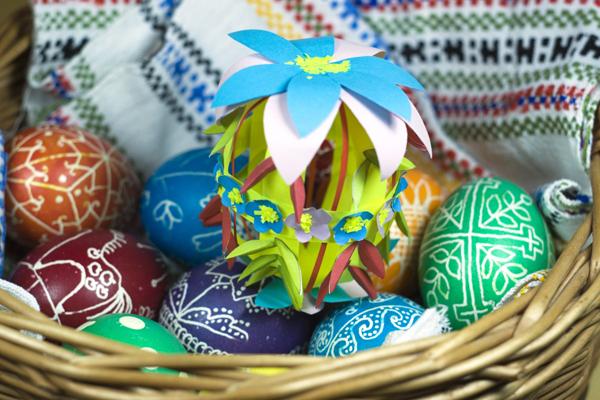 DГ©coration artisanale pour PГўques