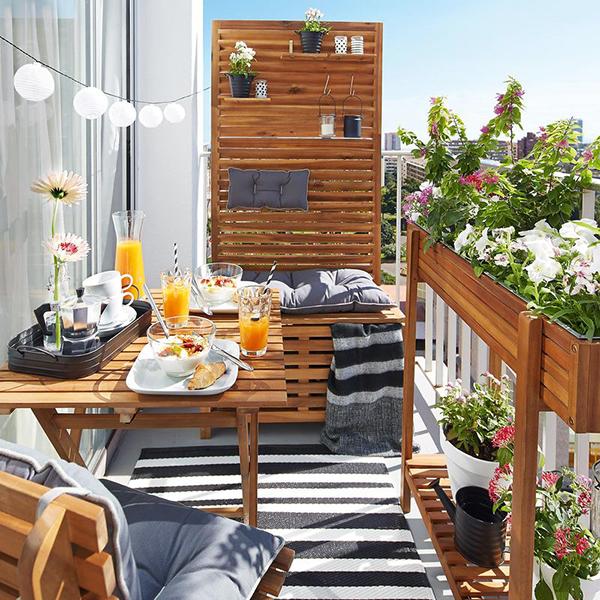 Малък рай за душата и очите... на балкона!